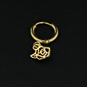 mini créole rose noire